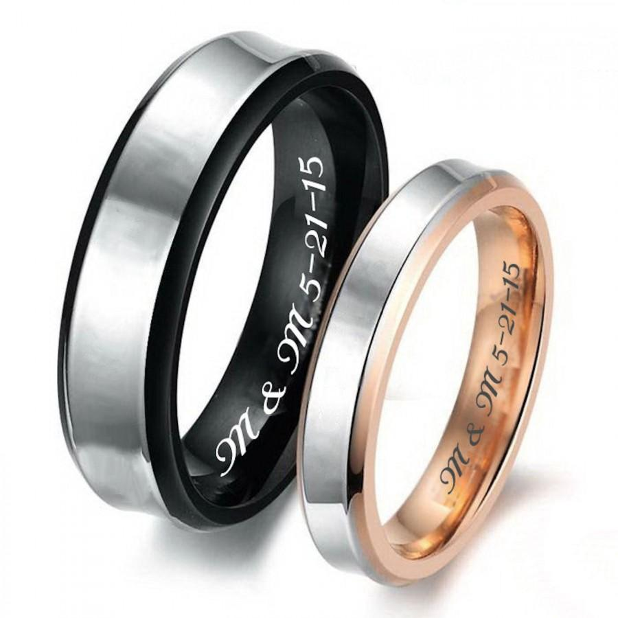 personalized black gold sweetheart s ring