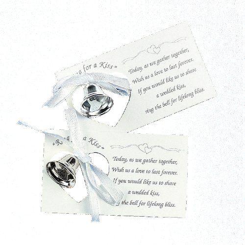 زفاف - Silver Wedding Mini Bell Decorations Favors