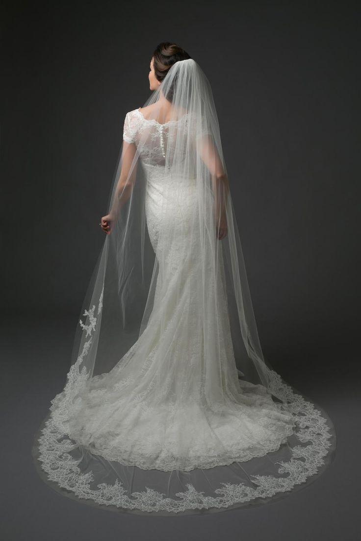 Mariage - Chapel Length Veil