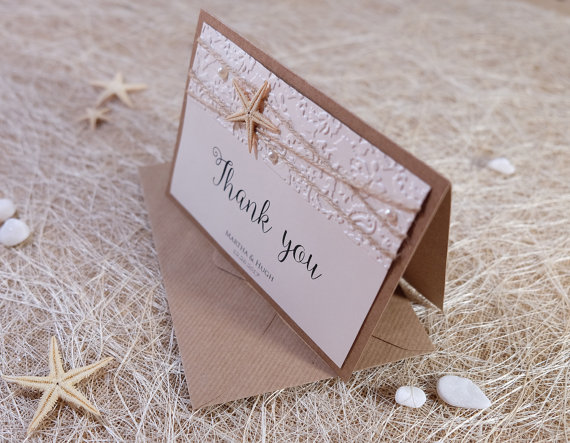 Wedding Thank You Notes Thank You Cards Thank You Card Folded
