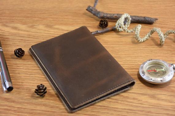 leather passport wallet handmade passport holder