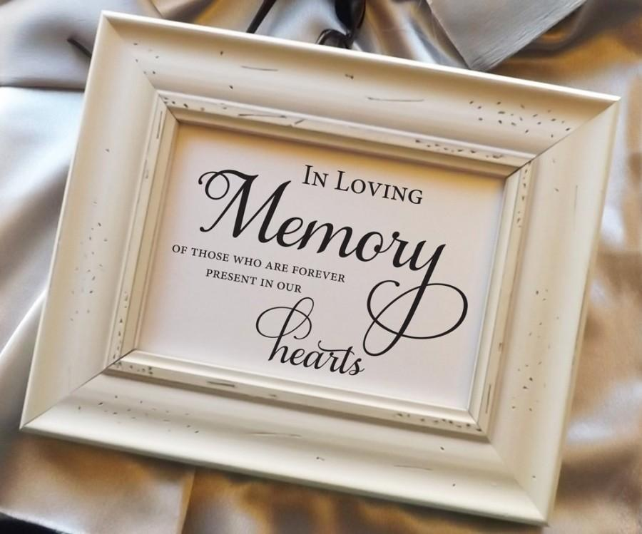 In Loving Memory Of Those Who Are Forever Present In Our Hearts ...