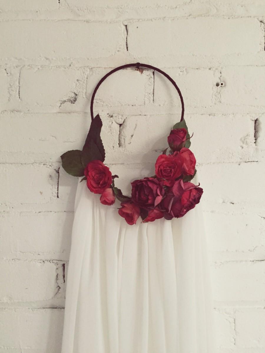 Accessories Roseate Flower Crown Veil 2602483 Weddbook