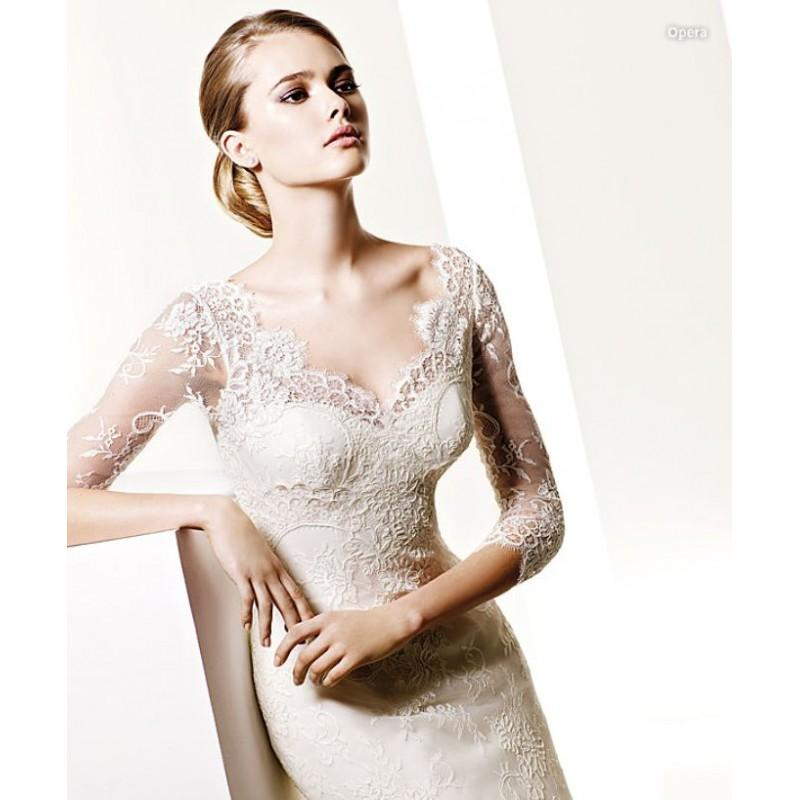 Mariage - Pronovias Opera Bridal Gown (2010) (PR10_OperaBG) - Crazy Sale Formal Dresses