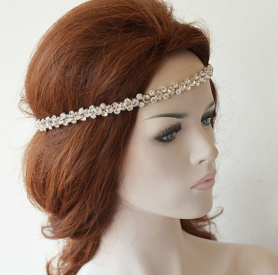 Mariage - Crystal Headpiece, Hair Accessories, Wedding Headband, Wedding Hair Accessories, Bridal Hair Accessories
