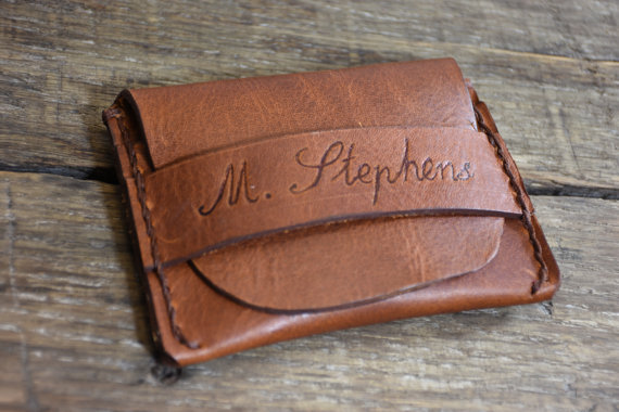 Свадьба - Personalized Leather Wallet, Mens Wallet, Flap Wallet, Minimalist Credit Card Wallet,gifts for him, NiceLeather-NL101