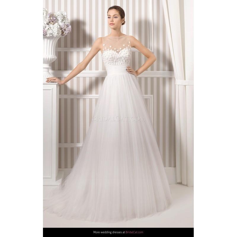Mariage - Luna Novias 2015 8S108 Lak - Fantastische Brautkleider
