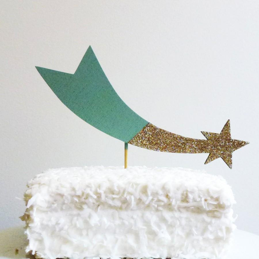 Decor Shooting Star Cake Topper 2602737 Weddbook