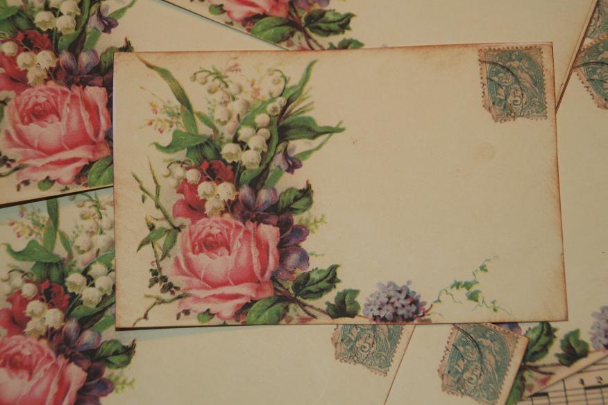 Mariage - Wedding Place Card, Escort Cards,  Romantic Shabby Chic Style Place Cards, Wedding Placecards, Quantity 50