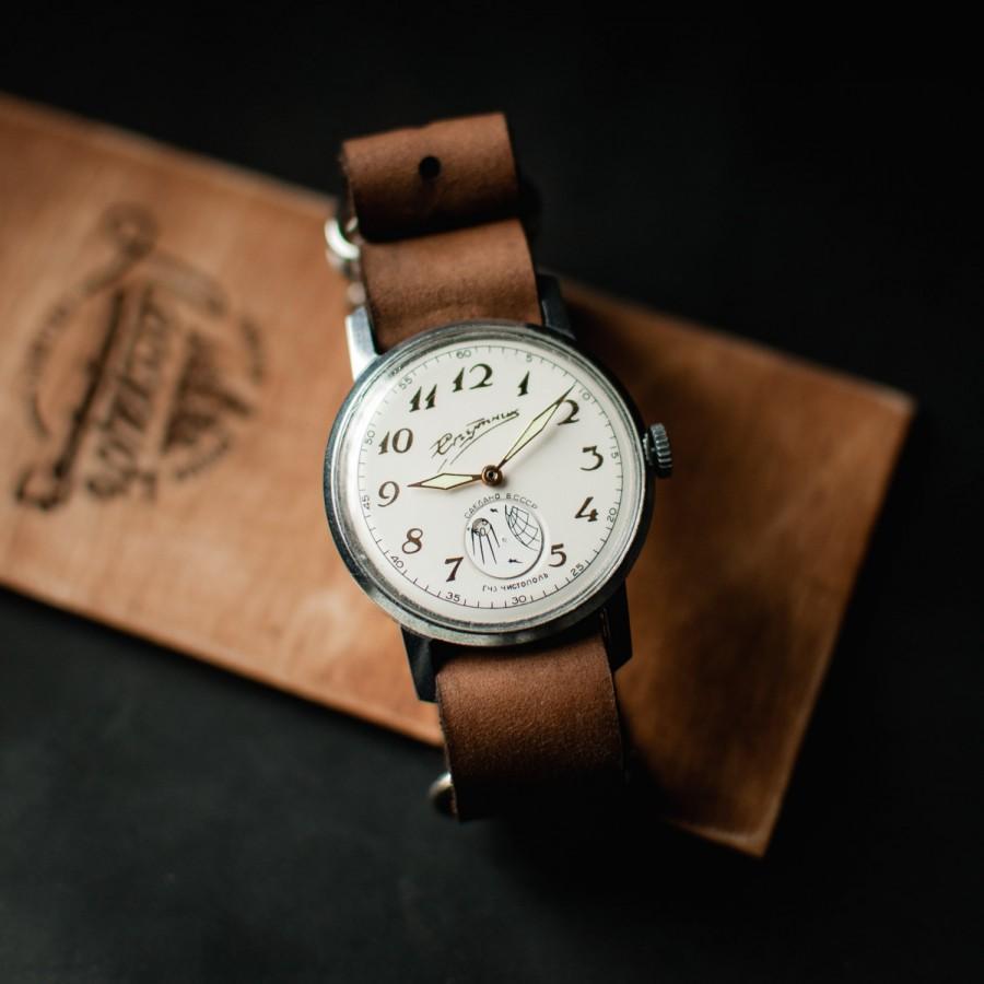 زفاف - White wrist watches for women, ladies watch, womens watch, soviet watch Sputnik, ussr russian watch, watch women, mechanical watch