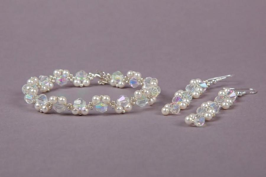 Bridal Swarovski Jewellery Set 3d91d06df7