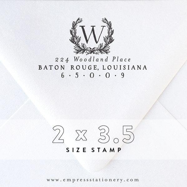 Свадьба - Return Address Stamp No. 2