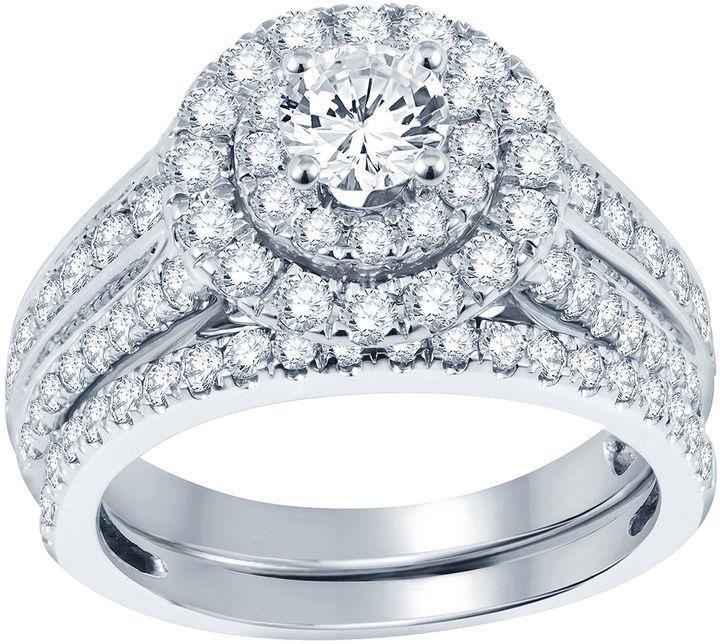 زفاف - Nicole By Nicole Miller 2 CT. T.W. Diamond Bridal Set