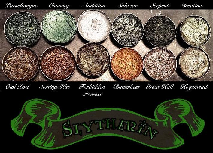 Wedding - PRE-ORDER Slytherin House Eyeshadow Palette *Vegan* Harry Potter Eyeshadow