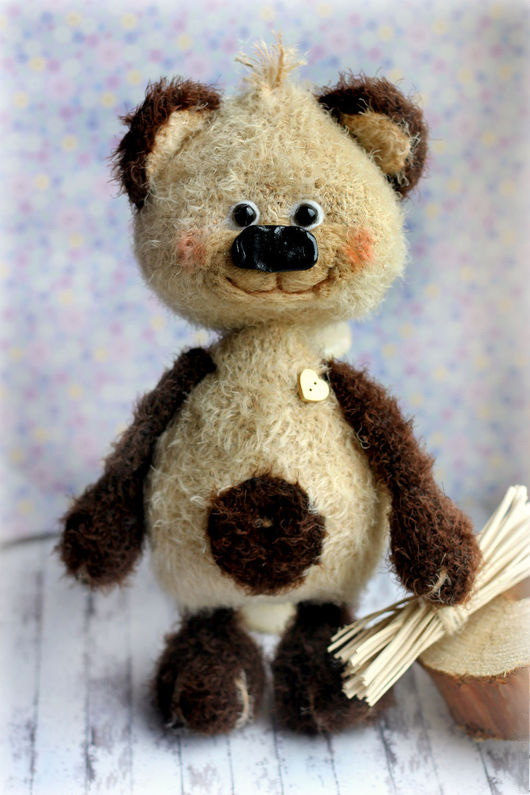 Свадьба - Plush Bear Knitted Toy bear Amigurumi Doll  bear stuffed toy Handmade crochet bear toy stuffed bear toy large bear plush bear Christmas toy