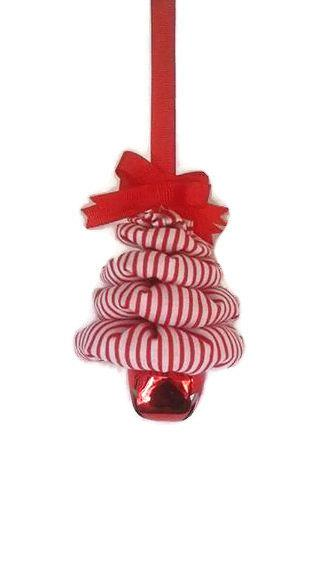Mariage - Peppermint Candy Christmas Tree Ornament