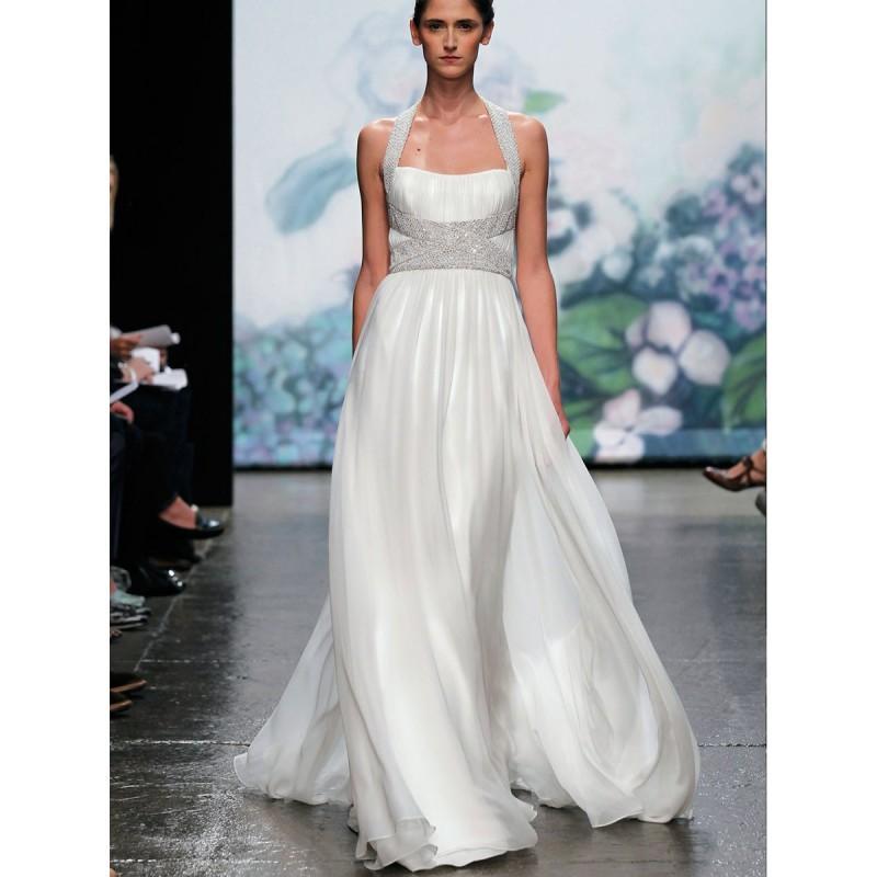 Atemberaubend Halfter Hals Kleid Für Hochzeitsgast Bilder ...