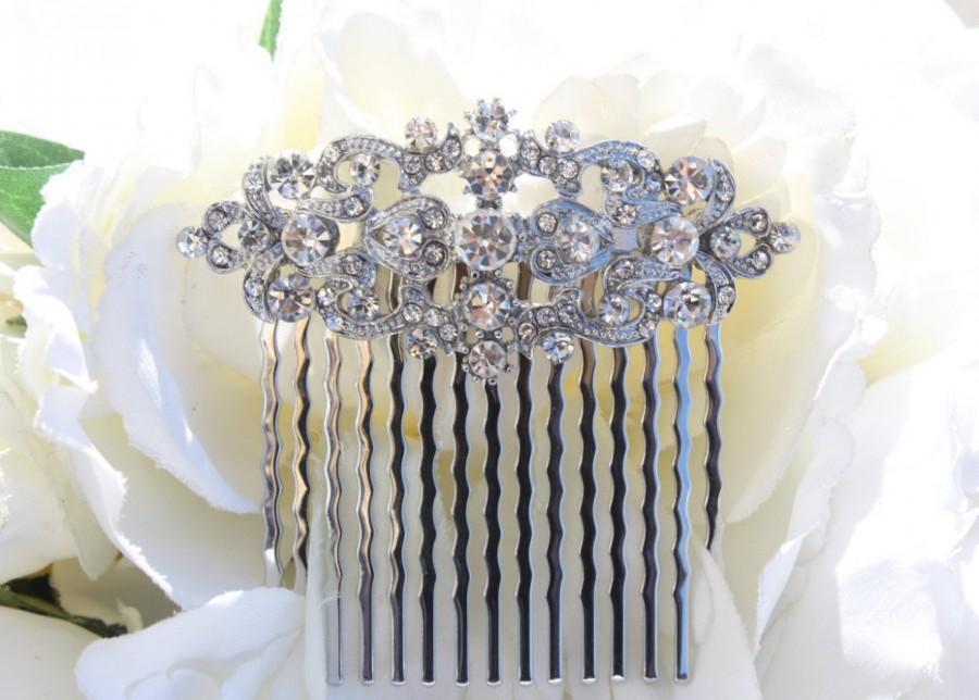 Свадьба - bridal hair accessories, bridal hair comb, wedding hair accessories, wedding hair comb, hair accessories, swarovski hair comb, hair comb