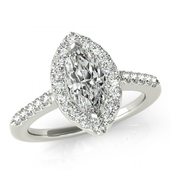 Wedding - 2.80 Carat Marquise Supernova Moissanite & Diamond Engagement Ring 14k, 18k, or Platinum, Marquise Moissanite Engagement Rings, Cyber Monday