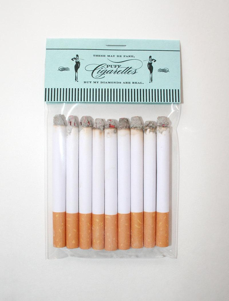 Mariage - Breakfast at Tiffany's Party Puff Cigarettes