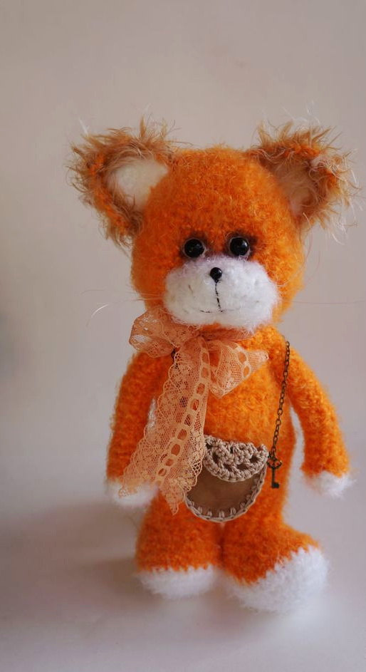 Fletcher the Fox - Amigurumi Crochet Woodland Forest Stuffed Animal with  Button Jointed Movable Limbs | 943x514