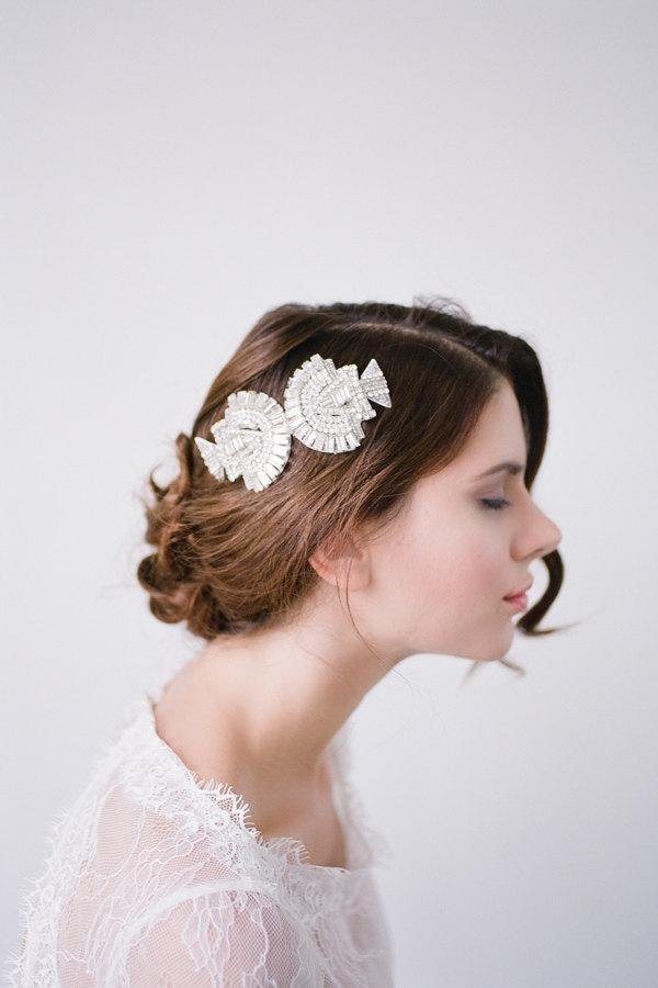 Wedding - Wedding Hair Comb,Bridal Hair Comb,Crystal Bridal Comb,Silver Wedding Hair Comb,Wedding Hair Accessory,Bridal Headpiece,Hair COMB-AMARA