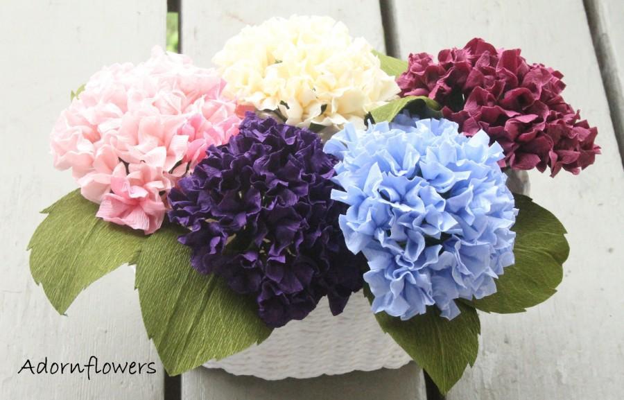 Mariage - Paper flower-Hydrangea