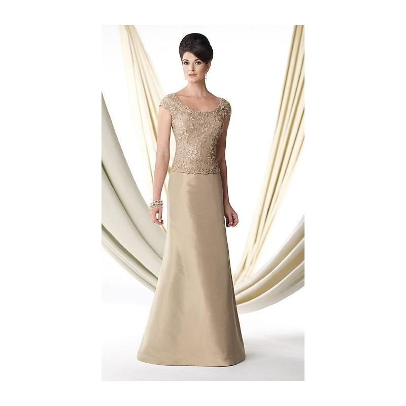 Hochzeit - Ivonne D 114D41 Cap Sleeve Silk Taffeta Mothers Gown - Brand Prom Dresses