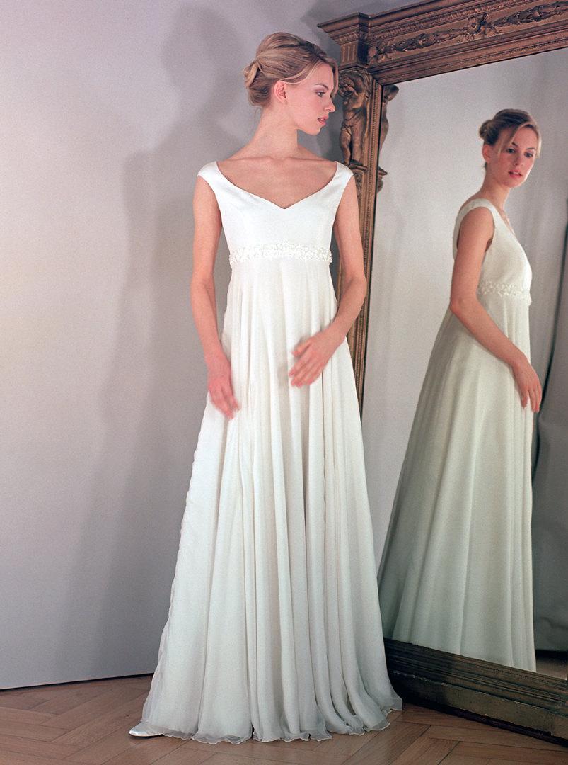 زفاف - Maternity wedding dress for pregnant bride