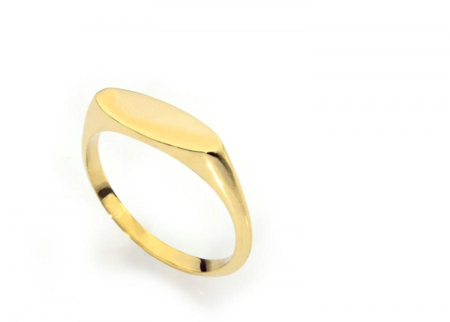 Mariage - Unique wedding bands for women, personalized ring ,yellow gold wedding ring