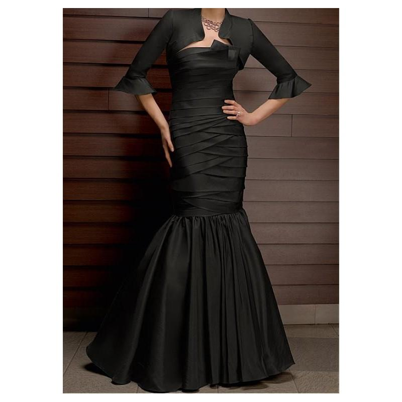 Taffeta Mermaid Dress