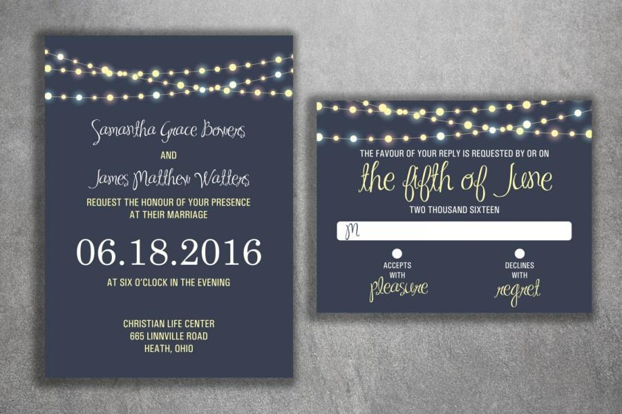 cheap unique wedding invite set cheap wedding invitations lights