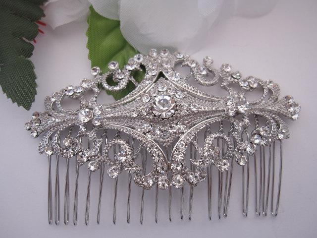 Wedding - Bridal hair comb bridal comb bridal headpiece bridal accessories bridal hair piece bridal hair accessories bridal hair jewelry wedding comb