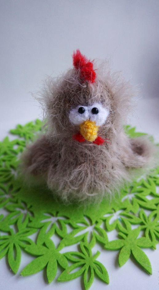 Wedding - Crochet Amigurumi Chicken Plush Bird Small Stuffed Animal Kid's Feathered Friend beige Hen Doll Baby Shower Gift Farm Chick Halloween toy