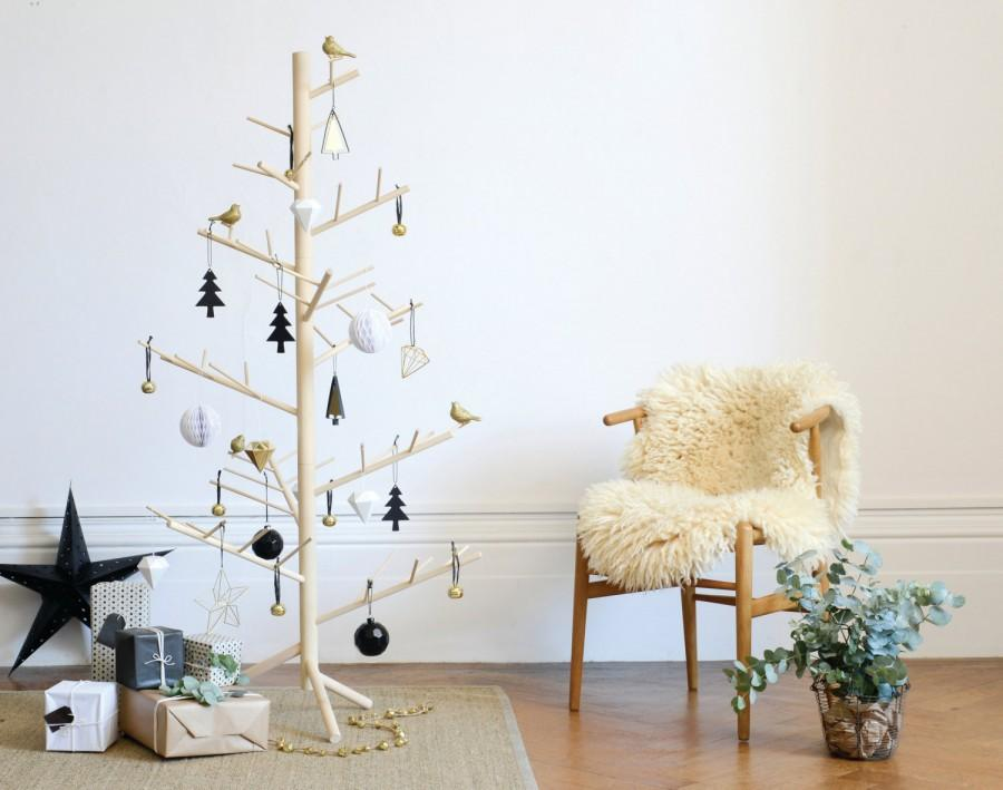 Wedding - Branch - Contemporary wooden Christmas tree