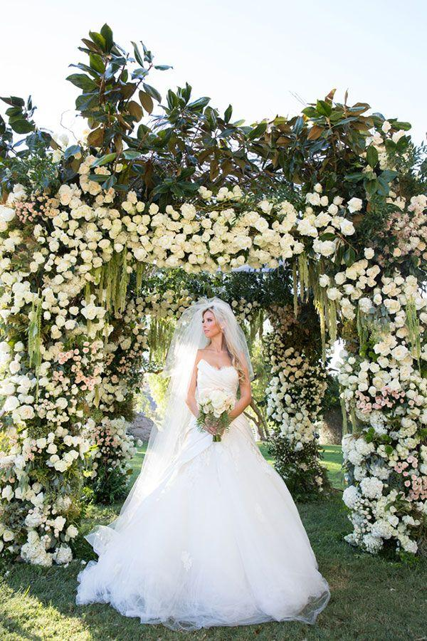 Wedding - Glamorous Outdoor California Wedding