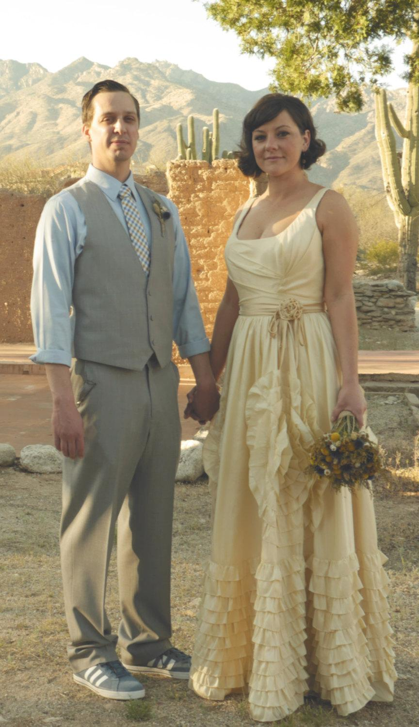 Spanish Style Wedding Dress With Straps Inspired By Jackie Kennedy