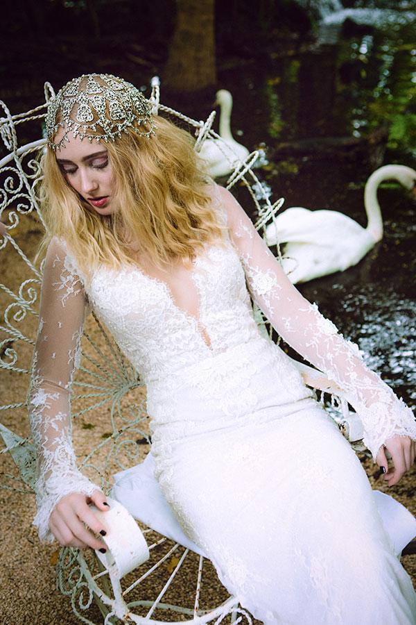 Hochzeit - Maria Elena Fall 2016 Bridal Headpieces Collection