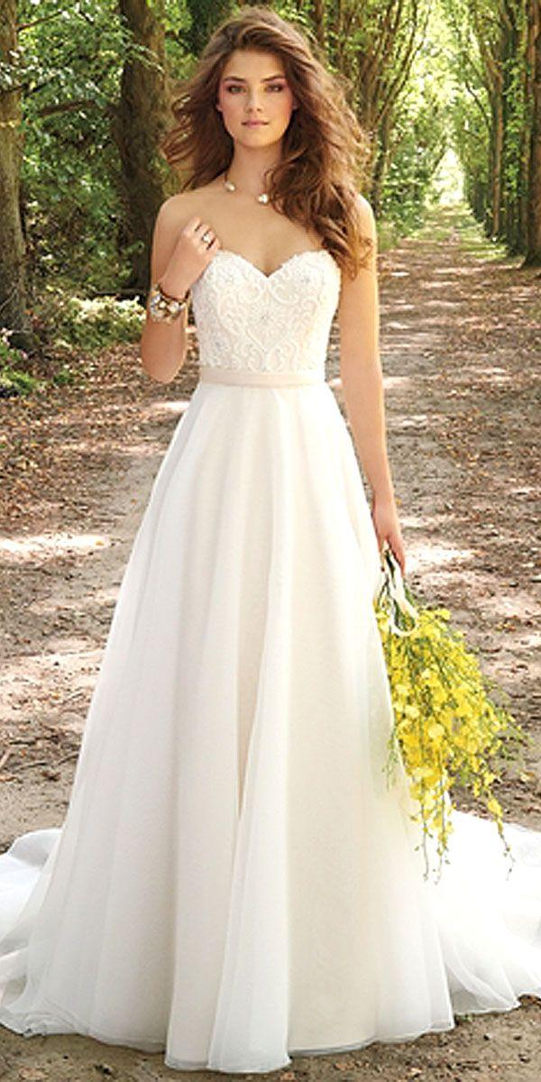 24 Simple Wedding Dresses For Elegant Brides #2606313 - Weddbook