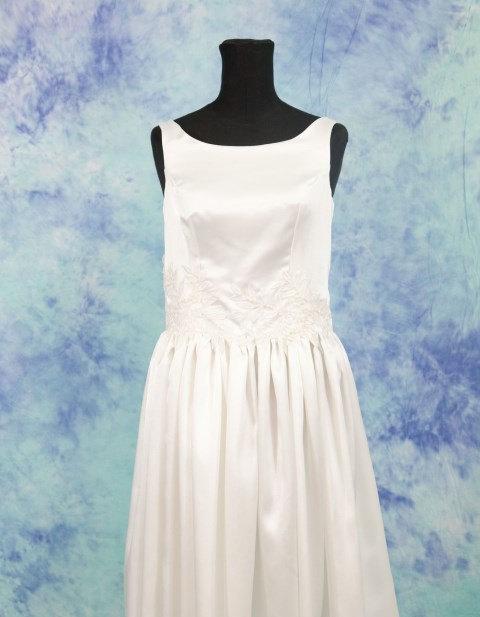 Short Wedding Dress, Simple Wedding Dress, Vintage Inspired Wedding ...