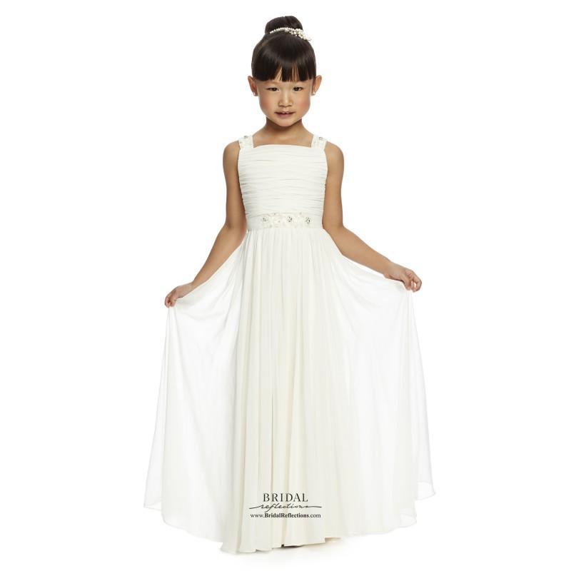 زفاف - Dessy FL4047 - Burgundy Evening Dresses