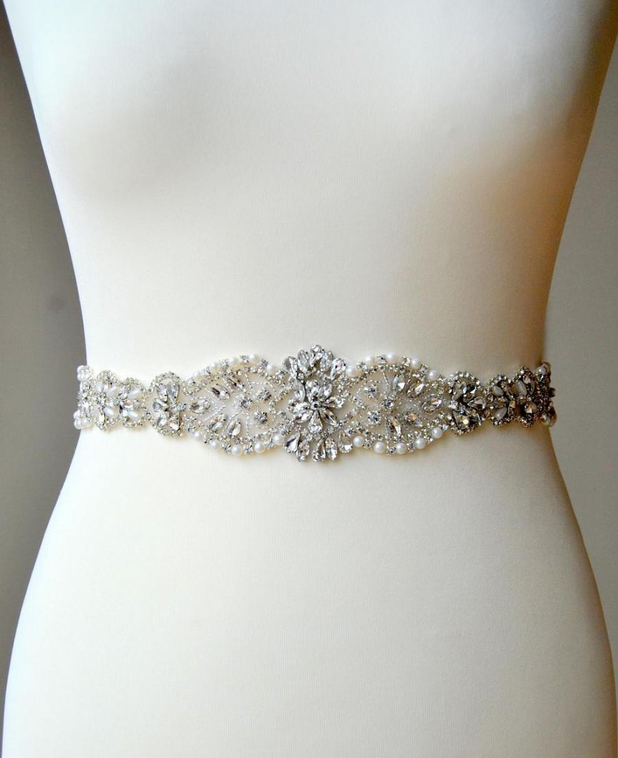 Crystal luxury bridal sash wedding dress sash belt for Sparkly belt for wedding dress
