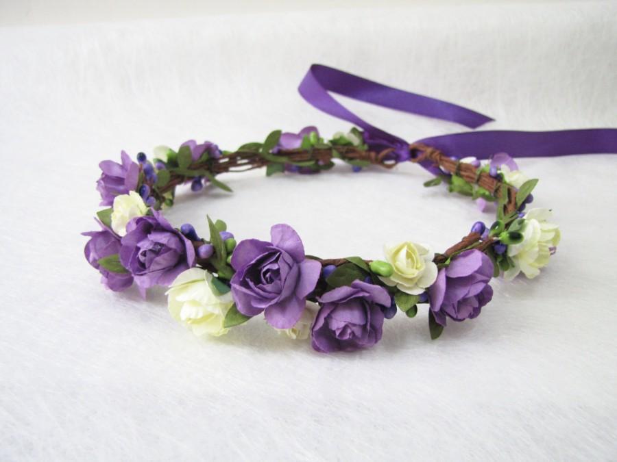 Wedding Floral Crown a677e2e332d
