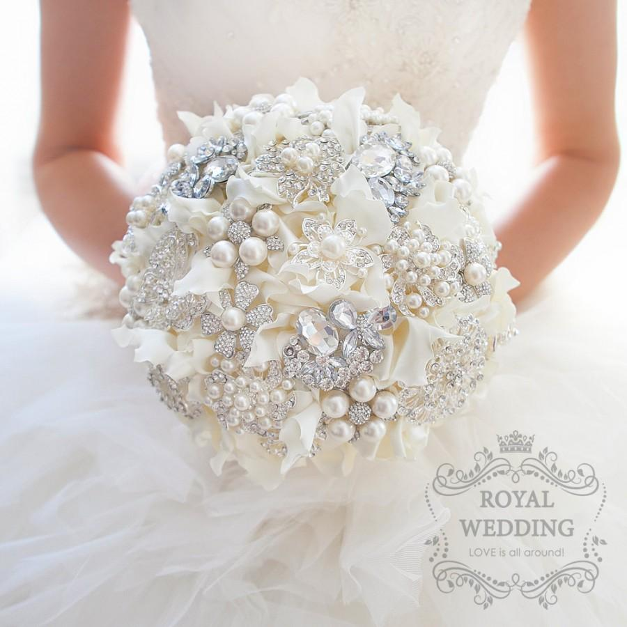 Brooch Bouquet Wedding Bouquet Bridal Bouquet Bridesmaids Bouquet ...