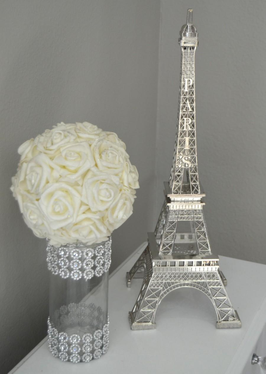 Mariage - Eiffel Tower Centerpiece. Parisians Theme Decor. Paris Wedding Decor. French inspired centerpiece. Pick Your Color.