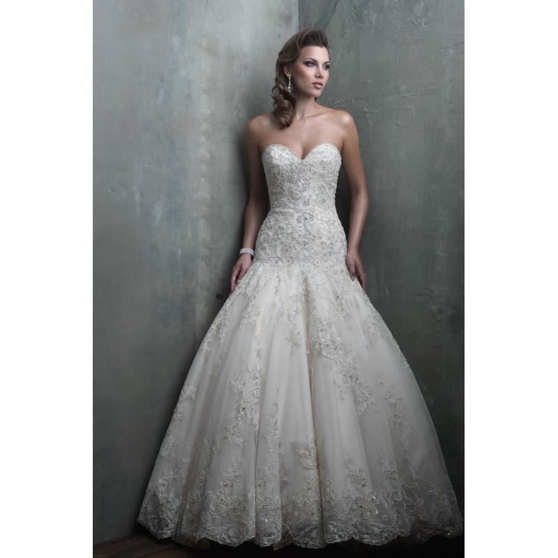 Hochzeit - Allure Bridals Couture C301 - Branded Bridal Gowns
