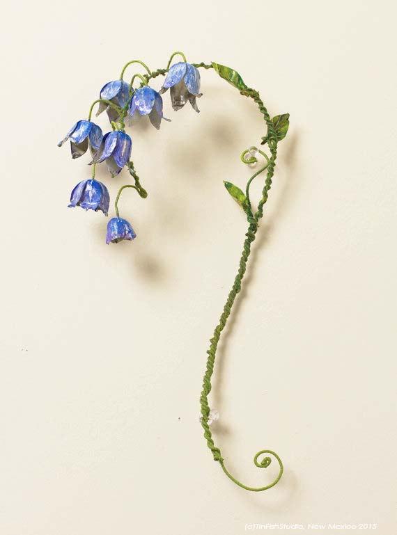 Hochzeit - Tin can BlueBells_flower stalk