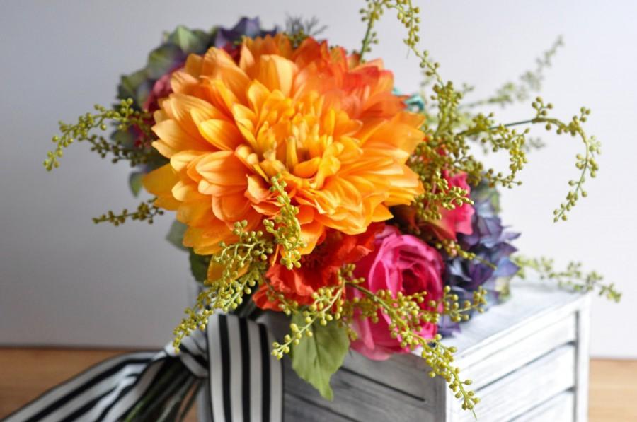 Mariage - Boho Wedding Bouquet
