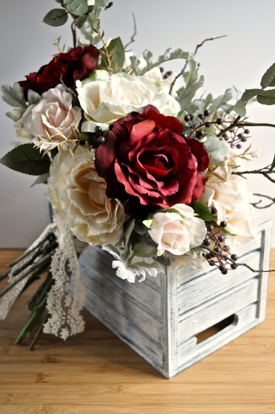 Свадьба - Winter Wedding Bouquet