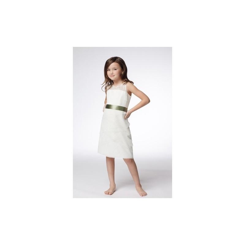 4cf510335f1 Watters Girls Flowergirl Dress Style No. 42812 - Brand Wedding Dresses